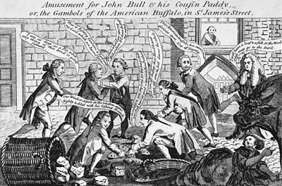 Photograph - Cartoon: John Bull, 1783 by Granger