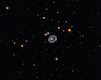 Cartwheel Photograph - Cartwheel Galaxy (eso 350-40) by Damian Peach