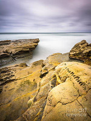 Flat Rock Photograph - Carved Stone by Alexander Kunz