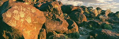 Carving Photograph - Carvings On Rocks At Petroglyph by Panoramic Images