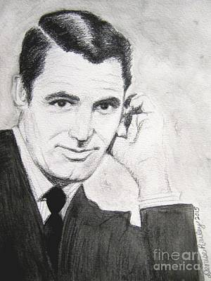 Painting - Cary Grant by Denise Railey