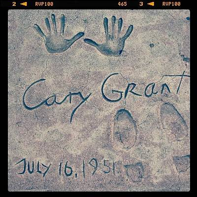 Star Photograph - #carygrant #moviestar #star #hollywood by Jill Battaglia