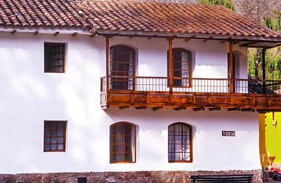 Photograph - Casa Balconey by Rick Bragan