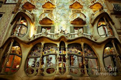 Photograph - Casa Batllo by Lana Enderle