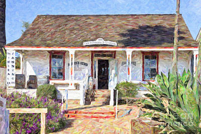 Digital Art - Casa De Pedrorena De Altamirano by Liz Leyden