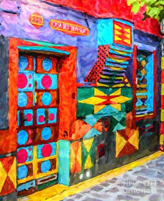 House Digital Art - Casa Dei Bepi Sua by Liz Leyden