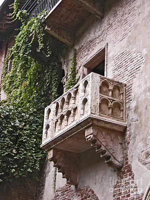 Casa Di Giulietta Art Print