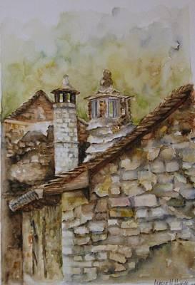 Casa En Alto Aragon Art Print