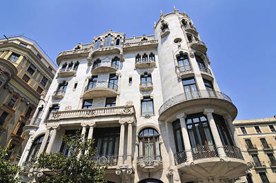 Photograph - Casa Fuster Barcelona Spain by Matthias Hauser