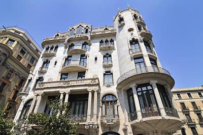 Photograph - Casa Fuster Barcelona Spain by Matthias Hauser