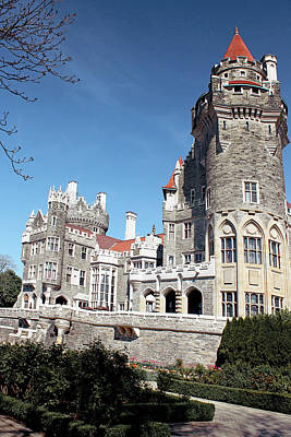 Photograph - Casa Loma Series 05 by Carlos Diaz