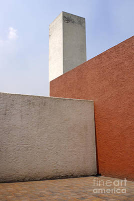 Photograph - Casa Luis Barragan Patio Mexico City by John  Mitchell