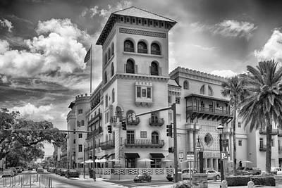 B Photograph - Casa Monica Hotel  by Howard Salmon