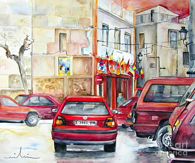 Communist Painting - Casa Pinet In Tarbena by Miki De Goodaboom