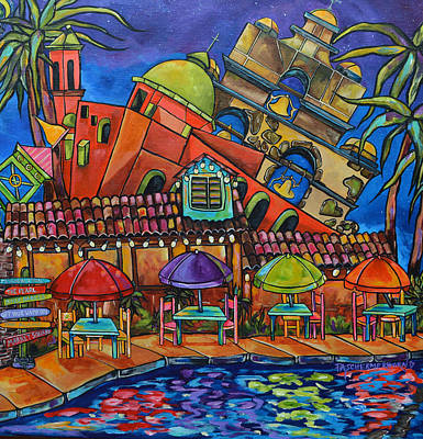 Painting - Casa Rio IIi by Patti Schermerhorn