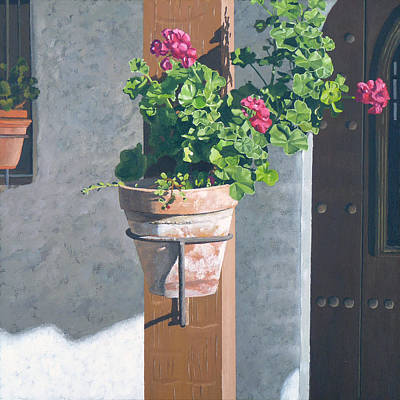 San Clemente Painting - Casa Romantica Four by Michael Ward