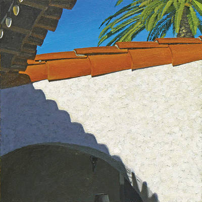 San Clemente Painting - Casa Romantica Three by Michael Ward