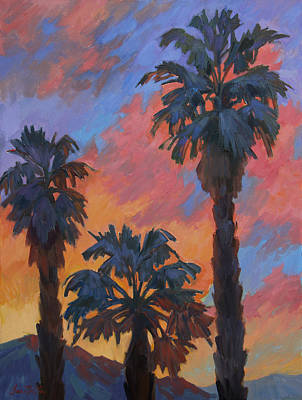 Painting - Casa Tecate Sunrise by Diane McClary