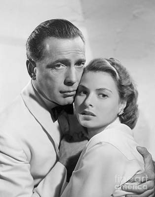 Bogart Photograph - Casablanca by MMG Archives