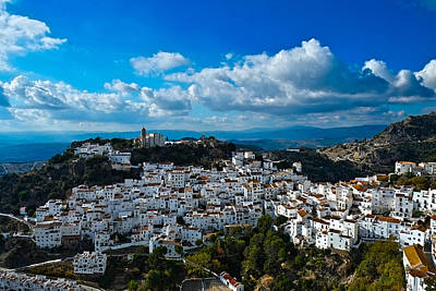 Casares In December Art Print
