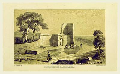 Casaurale, Algiers, Journal Of A Trip To The Algerine Art Print