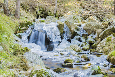 Photograph - Cascade And Ice by Stefano Piccini