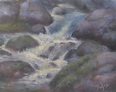 Pastel - Cascade by Bill Puglisi