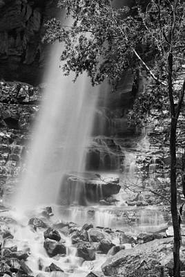 Photograph - Cascade Falls by Melany Sarafis