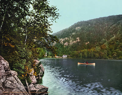 Painting - Cascade Lake, C1902 by Granger
