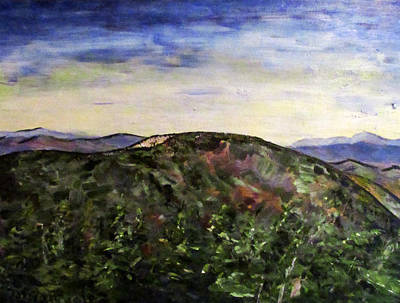 Painting - Cascade Mountain by Denny Morreale