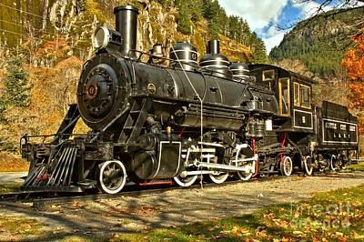 Photograph - Cascade Mountain Train by Adam Jewell