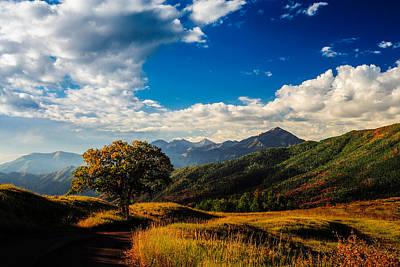 Photograph - Cascade Peak by TL  Mair