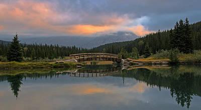 Cascade Ponds Sunrise Art Print