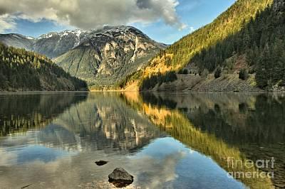 Photograph - Cascade Reflections by Adam Jewell