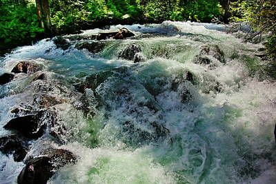 Superhero Ice Pops - Cascade River by Russ Harris