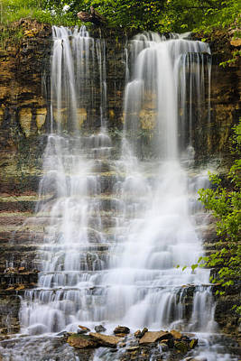 Photograph - Cascade by Scott Bean