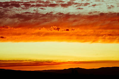 Oregon Photograph - Cascade Sunset 5 by Calvin Hanson