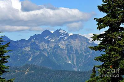 Photograph - Cascade Views by Rebecca Parker