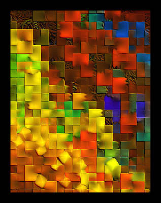 Digital Art - Cascade by Wendy J St Christopher