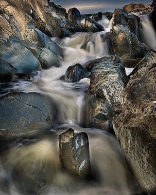 Virginia River Photograph - Cascades At Daybreak by Rick Barnard