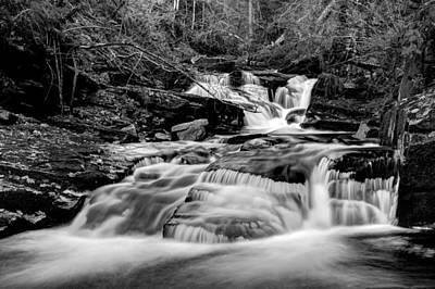 Mountain Photograph - Cascades Bw by Ivan Slosar