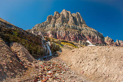 Photograph - Cascades Of Clements Mountain by Brenda Jacobs