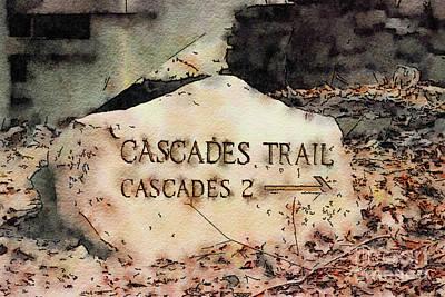 Photograph - Cascades Trail by Kerri Farley