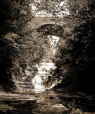Cascadilla Gorge, Ithaca Art Print by Litz Collection