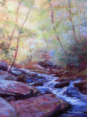 Cascading Art Print by Bonnie Mason