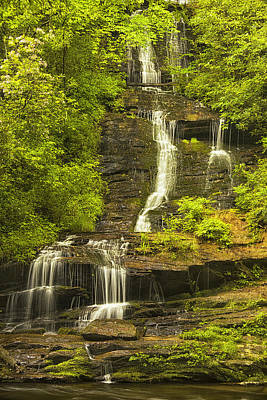 Vertical Photograph - Cascading Down by Andrew Soundarajan