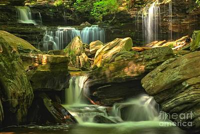 Photograph - Cascading Everywhere by Adam Jewell