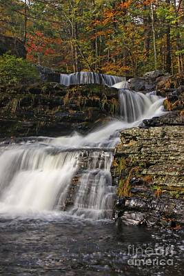 Photograph - Cascading Forever by Marcia Lee Jones