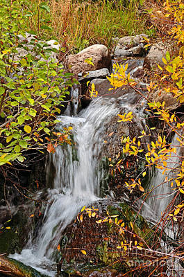 Photograph - Cascading Transitions by Kelly Black