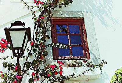 Photograph - Cascais Window by Sarah Loft